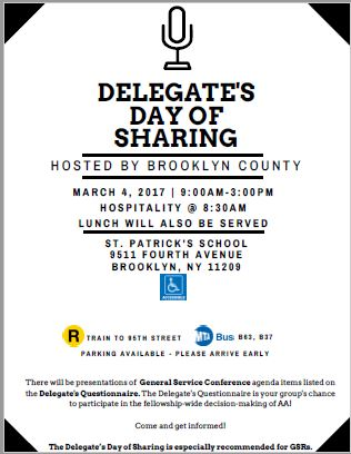 Delegate's Day of Sharing @ St Patrick's School | New York | United States