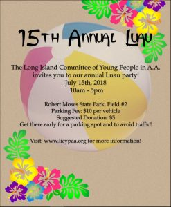 LICYPAA 15th Annual LUAU @ Robert Moses  | Babylon | New York | United States