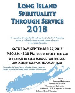 LISTS - Long Island Spirituality Through Service 2018 @ St Francis De Sales School for the Deaf | New York | United States