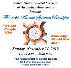 18th Annual Spiritual Breakfast @ The Vanderbilt @ South Beach | New York | United States