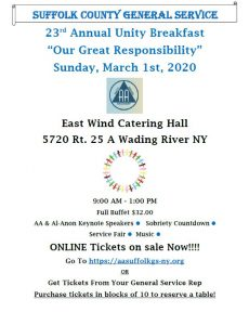 2020 Unity Breakfast @ East Wind Long Island | Wading River | New York | United States